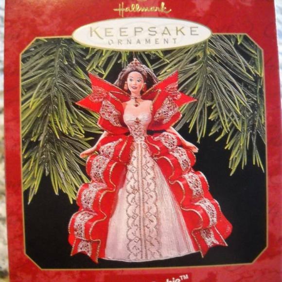 Barbie Christmas Ornament.Barbie 1997 Holiday Collector Christmas Ornament Nwt